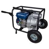 Мотопомпа Wetron 772557 7.5л.с. Hmax 26м Qmax 60м³/ч (4-х тактный) для грязной воды