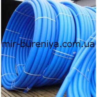 Труба полиэтиленовая синяя д.40 мм(10 атм)