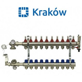 Коллектор для теплого пола Krakow на 10 контуров