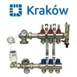 Коллектор для теплого пола Krakow на 3 контура