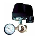 Комплект механической автоматики (реле давления Italtechnica+пятерник Pedrollo+манометр Pedrollo)