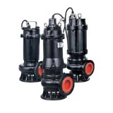 Насос канализационный 380В 3кВт Hmax 20м Qmax 1250л/мин LEO 3.0 80WQ40-13-3 (7738553)