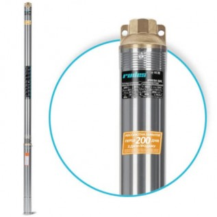Глубинный насос для скважины Rudes 2FRESH500 + кабель 15м