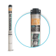 Глубинный центробежный насос для скважин Rudes 3FRESH 550+ кабель