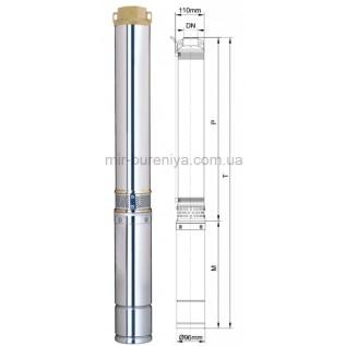 Алмазное долото (бур) БКВД 170 мм 3 лопасти 1308