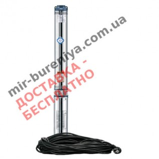 Насос для скважины Aquatica(Dongyin) 778401 погружной центробежный 0,37 кВт H 48 м д.80 мм 25 м кабеля