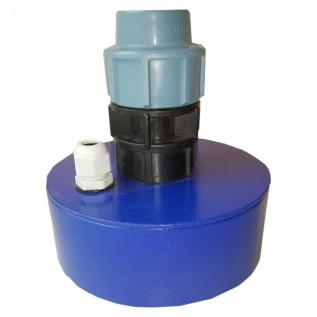 Оголовок в скважину д.125 мм, 32 мм металл (с сальником)