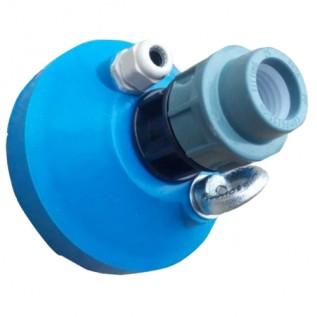 Оголовок для свердловини пластик д.125 мм, 32 мм