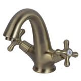 """Смеситель для умывальника (раковины) Corso 9679004 (FE-2A152K) Brenta 1/2"""" литой на шпильке"""