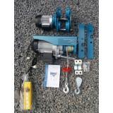 Тельфер электрический(подъемник) Kraissmann SHT 250/500 (с тележкой)