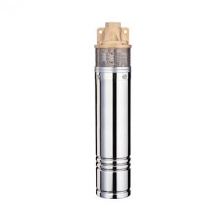 Насос вихревого типа Wetron 778332 (4SKmw150M) 1.1кВт H 98(39)м Q 45(30)л/мин д.96мм 10м кабеля