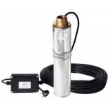 Скважинный насос Водолей БЦПЭ - 0,32-40У; 1,2-3 м.куб/ч; h=40 м; Ø105мм (кабель 25м)
