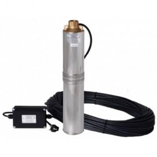 Скважинный насос Водолей БЦПЭ 0,32-050У 1,2-3 м.куб/ч h=50 м д.105мм (кабель 32м)
