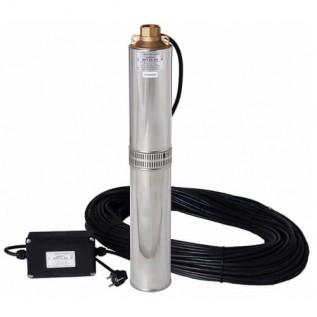 Бытовой глубинный насос Водолей БЦПЭУ 0,5-63 У 1,8-3,6 куб.м, 96 мм